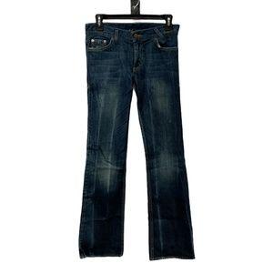 Armani Exchange Flared Leg Jeans size 4